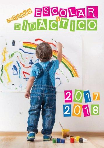 CATALOGO ESCOLAR Y DIDACTICO 2018 definitivo