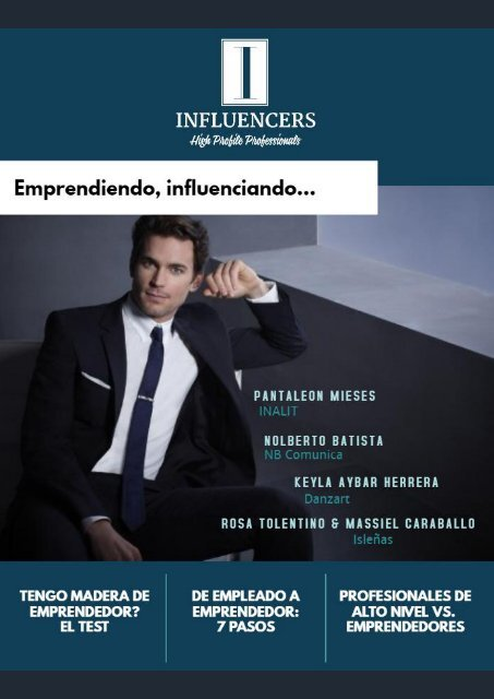Influencers 3era E - Emprendedores