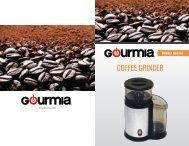 Gourmia GCG165 Compact Coffee Grinder -