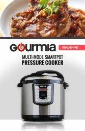 Gourmia GPC1000 SmartPot Pressure Cooker 10 Qt. -