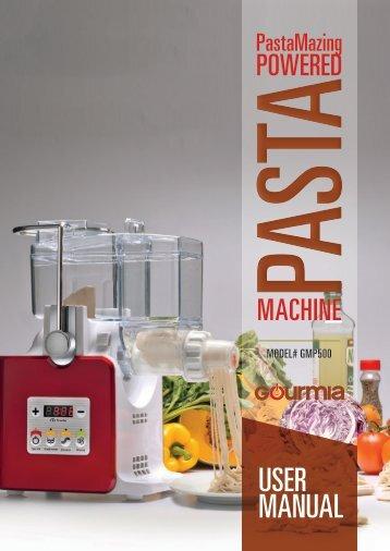 Gourmia GPM500 Pasta Maker -