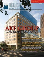 For the Life of Your Building - AKF Group LLC
