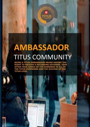 Titus ambassador