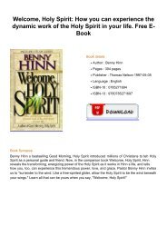 Welcome-Holy-Spirit-How-you-