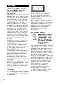 Sony SHAKE-X3D - SHAKE-X3D Consignes d'utilisation Norvégien - Page 2