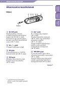 Sony NWZ-B143F - NWZ-B143F Consignes d'utilisation Hongrois - Page 5