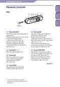 Sony NWZ-B143F - NWZ-B143F Consignes d'utilisation Polonais - Page 5