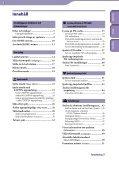 Sony NWZ-B143F - NWZ-B143F Consignes d'utilisation Suédois - Page 3