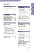 Sony NWZ-B143F - NWZ-B143F Consignes d'utilisation Italien - Page 3
