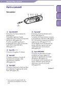 Sony NWZ-B143F - NWZ-B143F Consignes d'utilisation Italien - Page 5