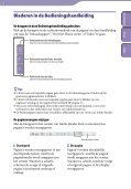 Sony NWZ-B143F - NWZ-B143F Consignes d'utilisation Néerlandais - Page 2