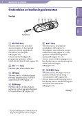 Sony NWZ-B143F - NWZ-B143F Consignes d'utilisation Néerlandais - Page 5