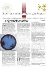 Blankeneser kirche am markt - in Blankenese