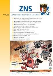 GOZ 2012 - Zahnärztlicher Bezirksverband Schwaben
