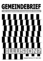 Gemeinebrief_Nr74 - 1-2011.pub - Evangelische Kirchengemeinde ...