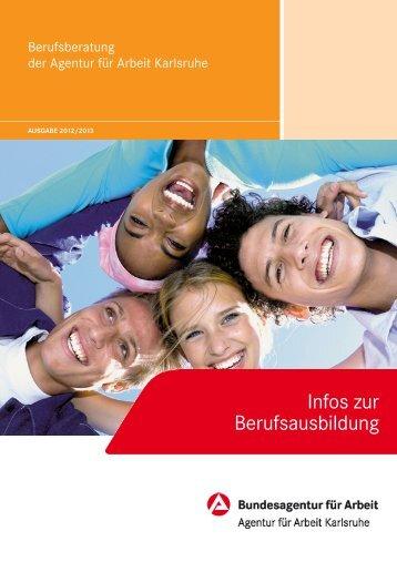 berufsausbildung in der region - Bundesagentur für Arbeit