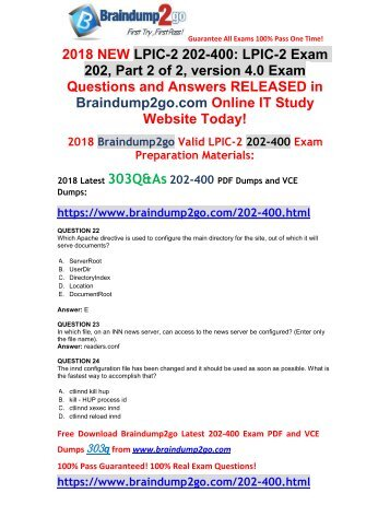 [2018-January-Version]New 202-400 VCE Dumps 303Q&As Free Share(22-32)