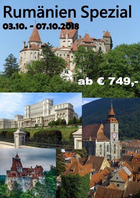 Rumänien Flyer