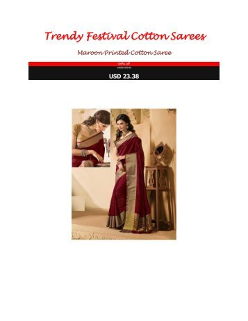 Trendy_Festival_Cotton_Sarees