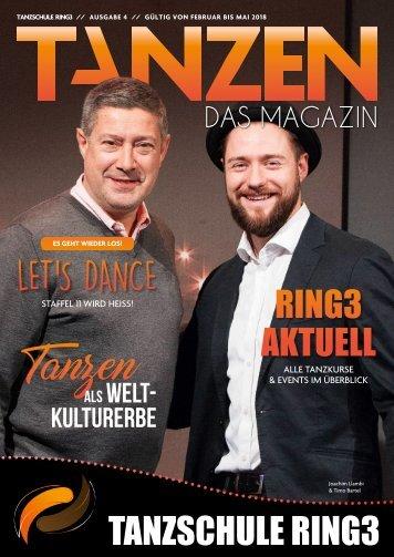 Tanzschule Ring 3 - Tanzen - Das Magazin Augabe 4