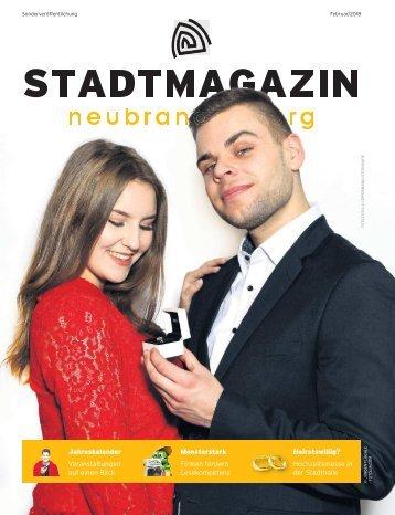 Stadtmagazin Februar