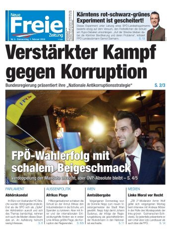 Verstärkter Kampf gegen Korruption