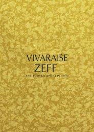 Leaflet Vivaraise Capsule Zeff Printemps-Été 2018
