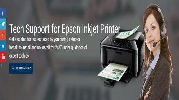 Epson Inkjet Printer Technical Support Number 1-800-213-8289