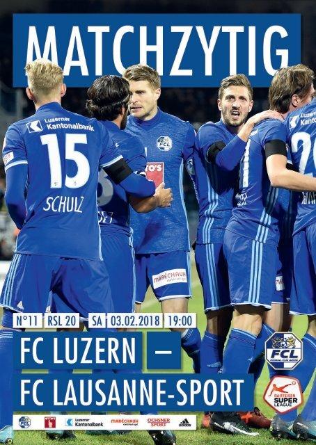 FC LUZERN MATCHZYTIG N°11 1718 (RSL 20)