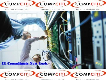 IT Consultants New York