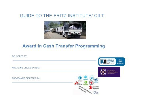 CHL CTP Award Guide - 2018