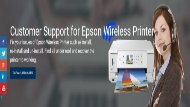 Epson Wireless Printer Setup support number 1-800-213-8289