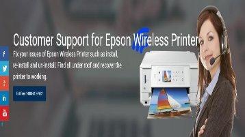Epson Wireless Printer Setup support number 1-800-213-8289