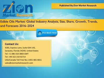 Edible Oils Market