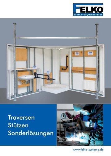 Traversen Stützen Sonderlösungen - FELKO Bau-Systeme GmbH