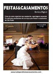 Ebook Festas & Casamento Fevereiro/2018