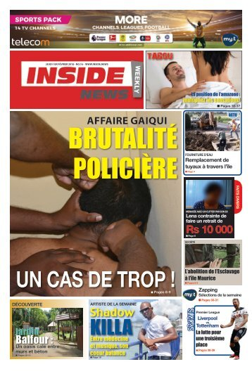 Inside News Weekly No. 16