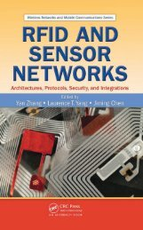 RFID and Sensor Networks: Architectures, Protocols, Security