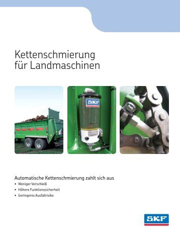 Kettenschmierung fuer Landmaschinen - 1-0974-DE