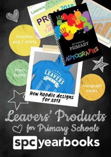 Leavers Products Brochure - Primary