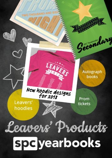 Leavers Products Brochure - Secondary