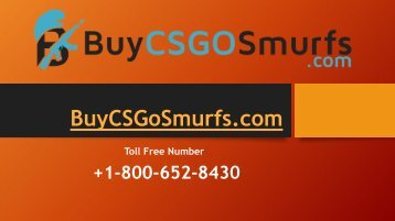 Buy Cs Go Smurf Ranked Accounts to Play Online