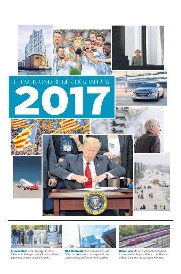 Das war 2017 - Jahresschlussbeilage_30.12.17