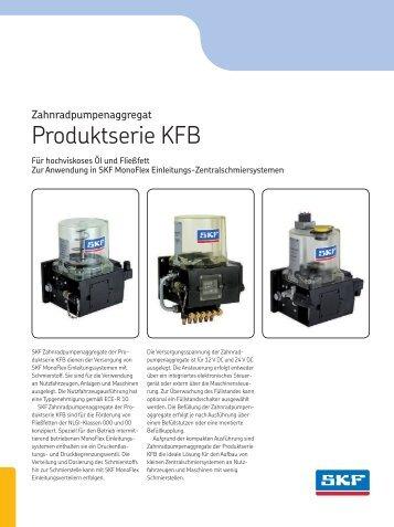 Zahnradpumpenaggregat KFB - 1-1206-DE