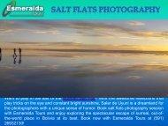 Salt Flats Photography