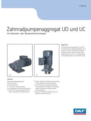 Zahnradpumpenaggregat UD-UC - 1-3019-DE