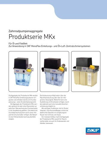 Zahnradpumpenaggregate MKx - 1-1203-DE