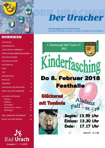 Der Uracher KW 05-2018
