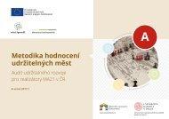 Metodika hodnocení udržitelných měst - Audit udržitelného rozvoje
