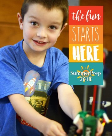 SummerPrep 2018 Catalog